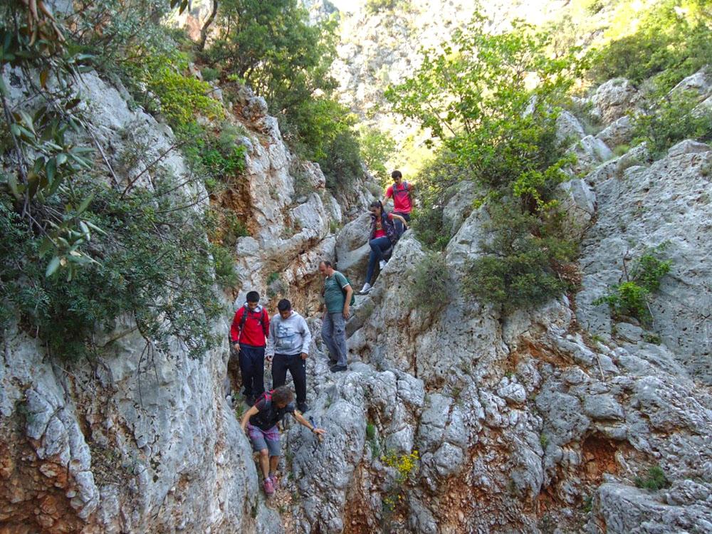 Trekking Faraggi Agion Pantwn